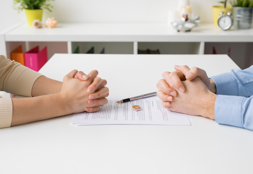 Divorce can throw your retirement plans out the window (Image: Shutterstock - Kaspars Grinvald)