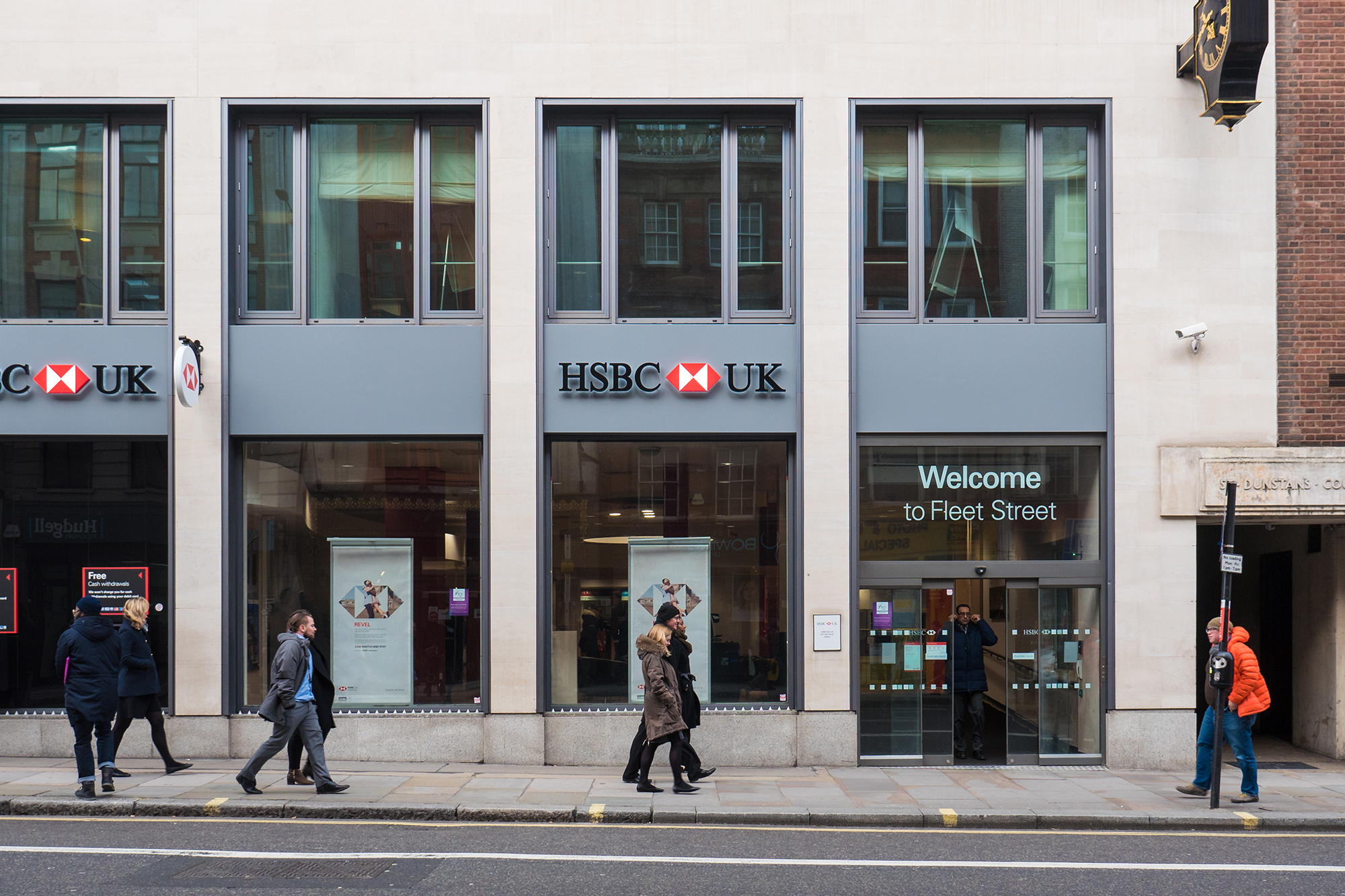 HSBC branch. (Image: pio3/Shutterstock)