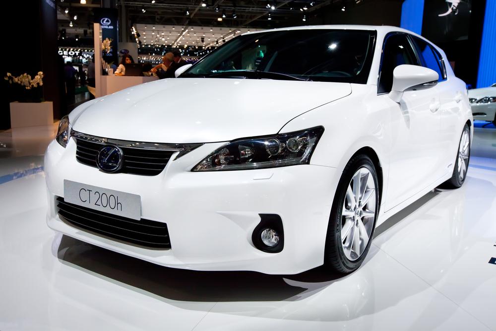 Lexus CT (Image: Shutterstock)