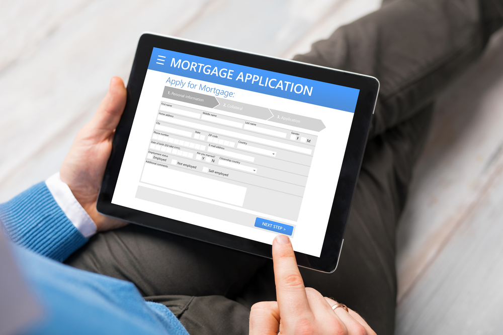 Applying for a mortgage online (Image: Shutterstock)