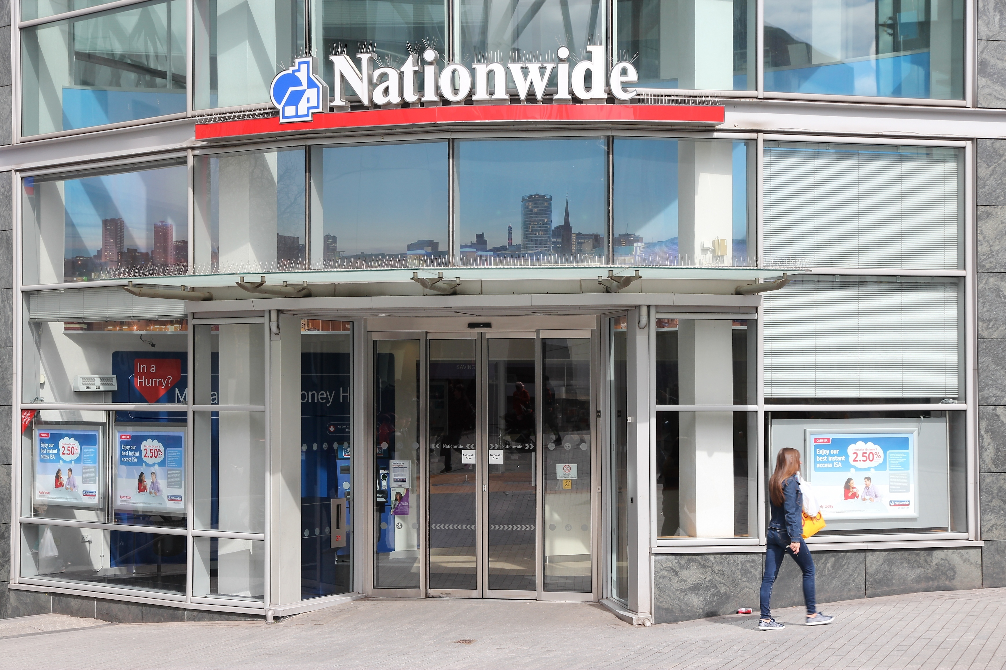 Nationwide branch. (Image: Shutterstock)
