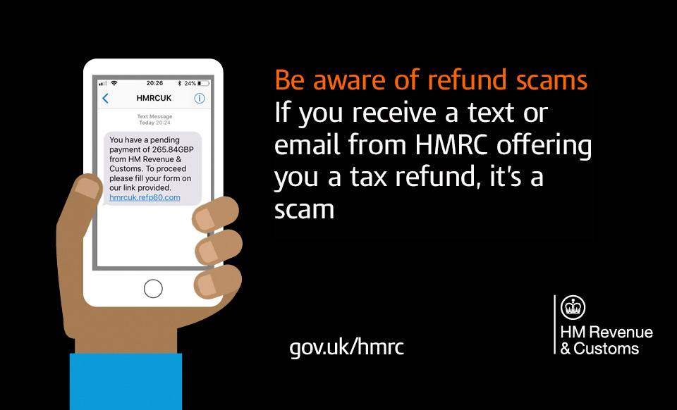 HMRC tax scam warning (Image: HMRC)
