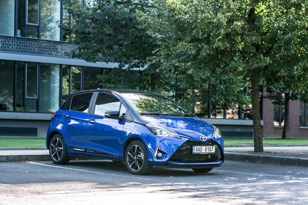 Toyota Yaris rated one of the safest cars (Image: Shutterstock)