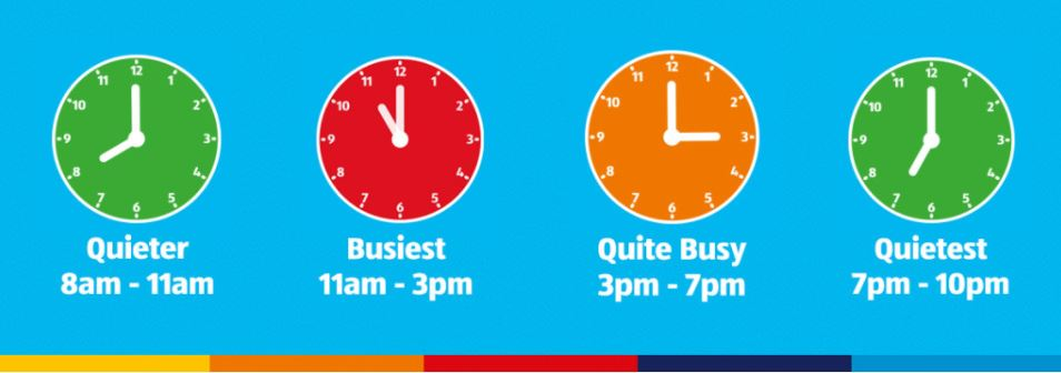Busiest and quietest times to shop at Aldi. (Image: Aldi)