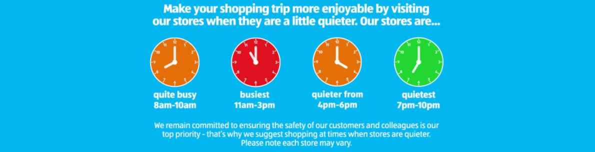 Busiest times of the day to shop at Aldi (Image: Aldi)