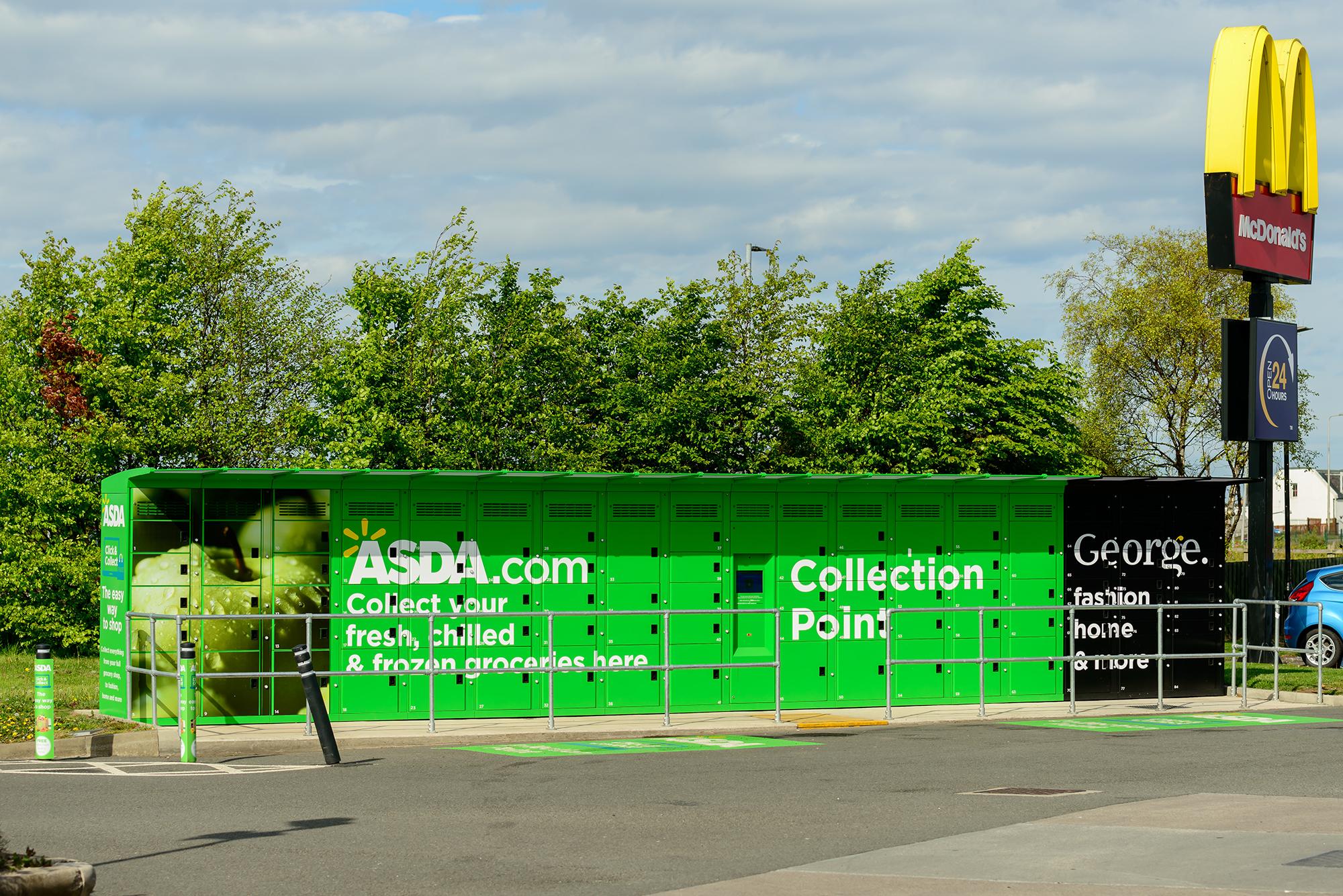 Asda Click & Collect. (Image: cornfield/Shutterstock)
