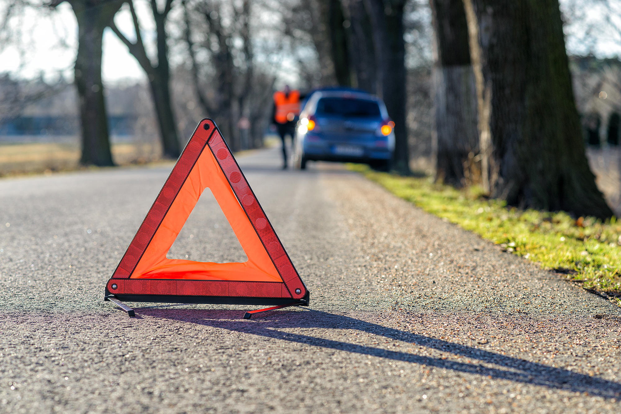 Warning triangle. (Image: Shutterstock)