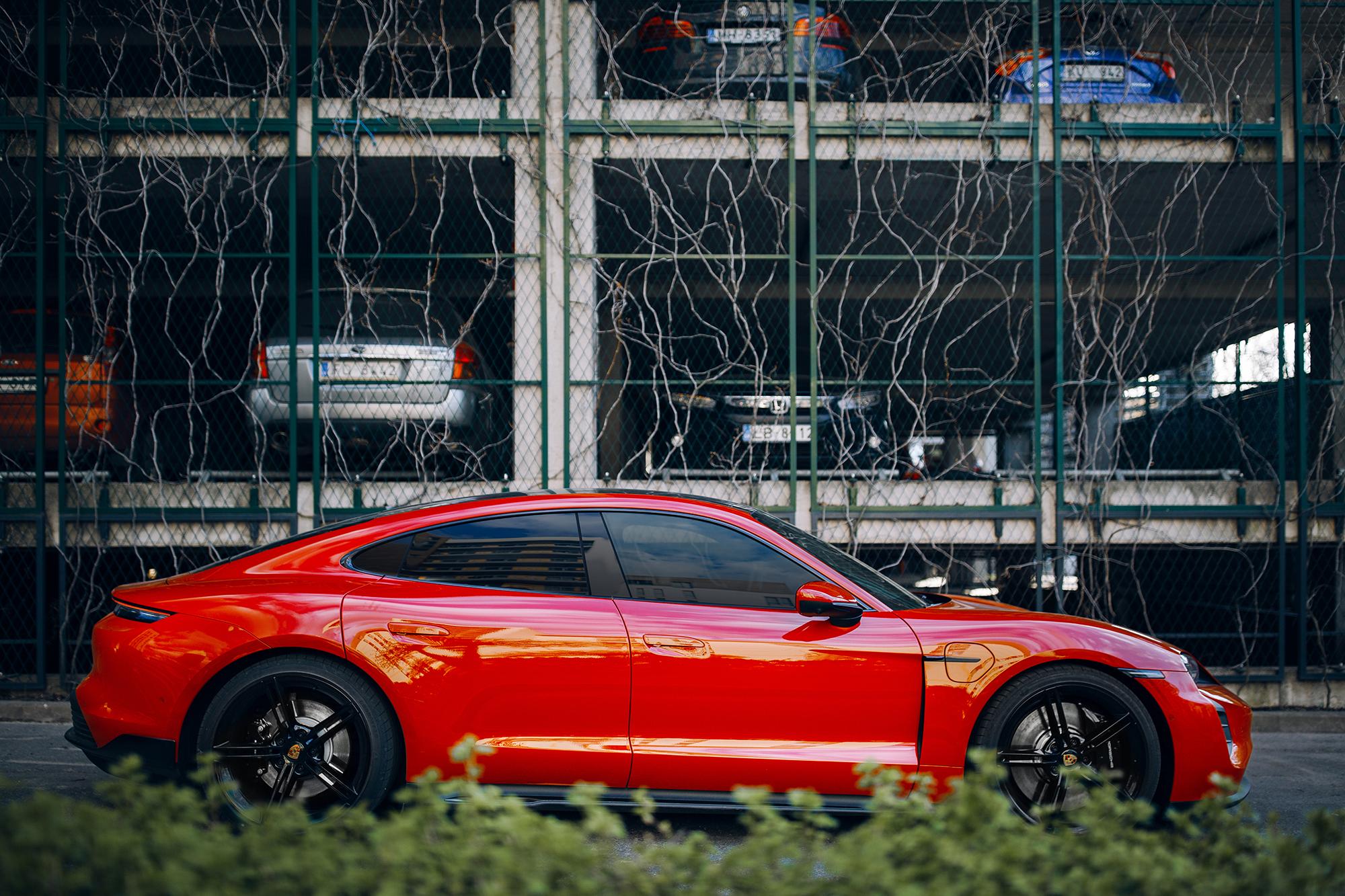 Porsche Taycan. (Image: BoJack/Shutterstock)