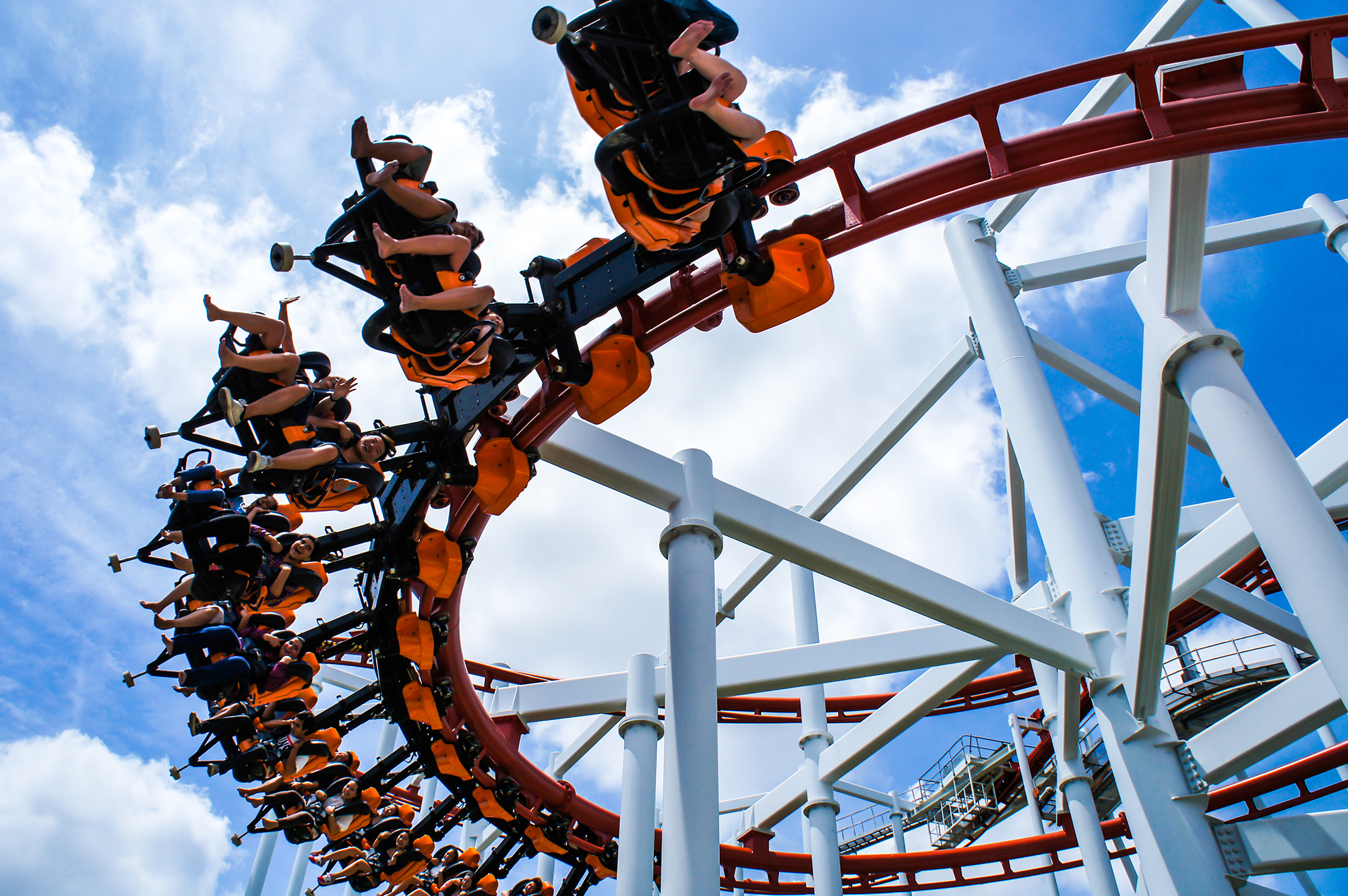 Theme park ride. (Image: Shutterstock)
