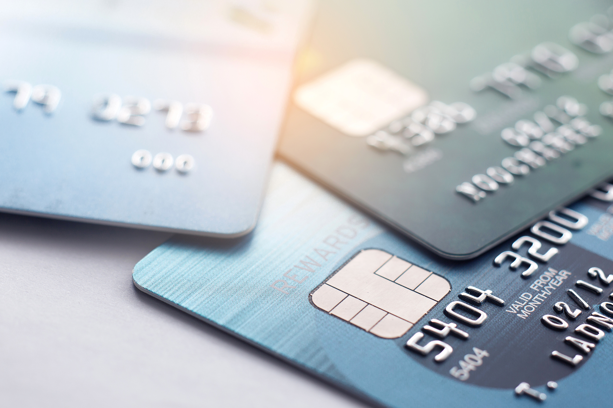Debit cards. (Image: Shutterstock)