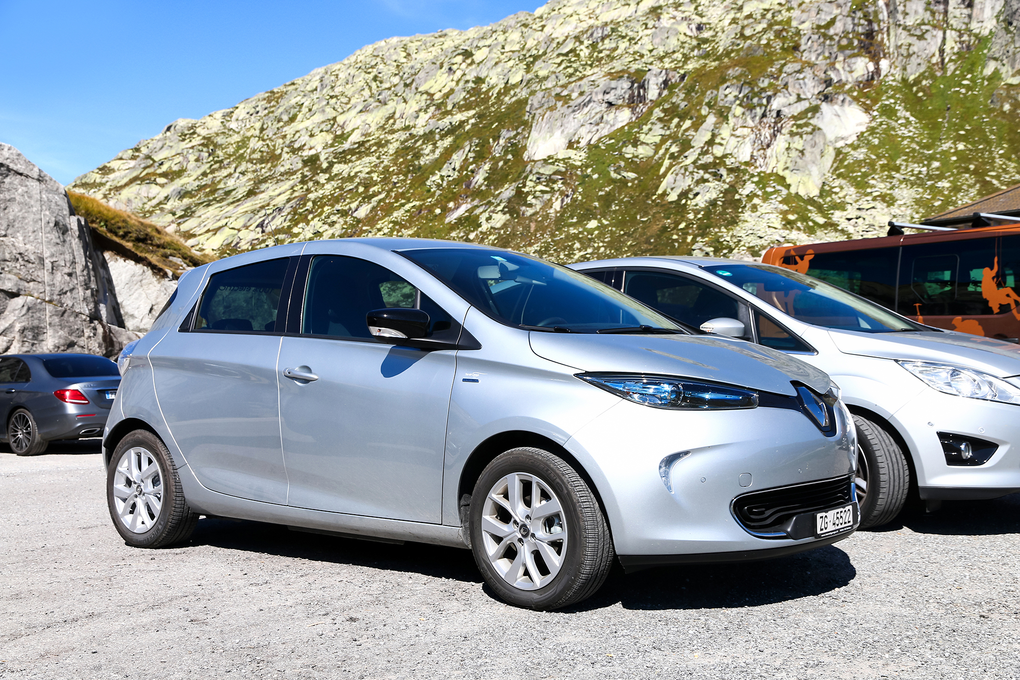 Renault Zoe. (Image: Shutterstock/Art Konovalov)