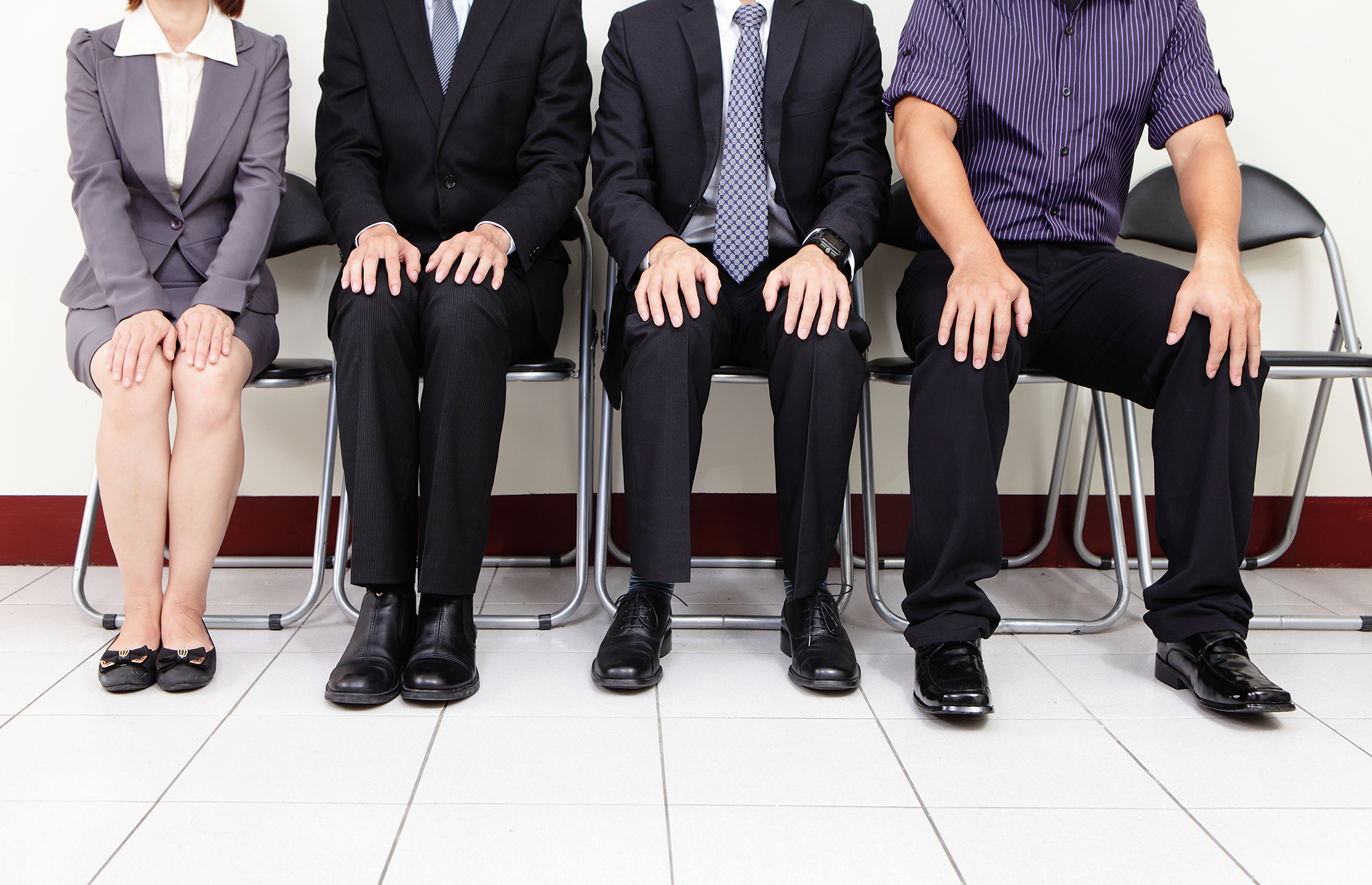 Interview candidates. (Image: Shutterstock)