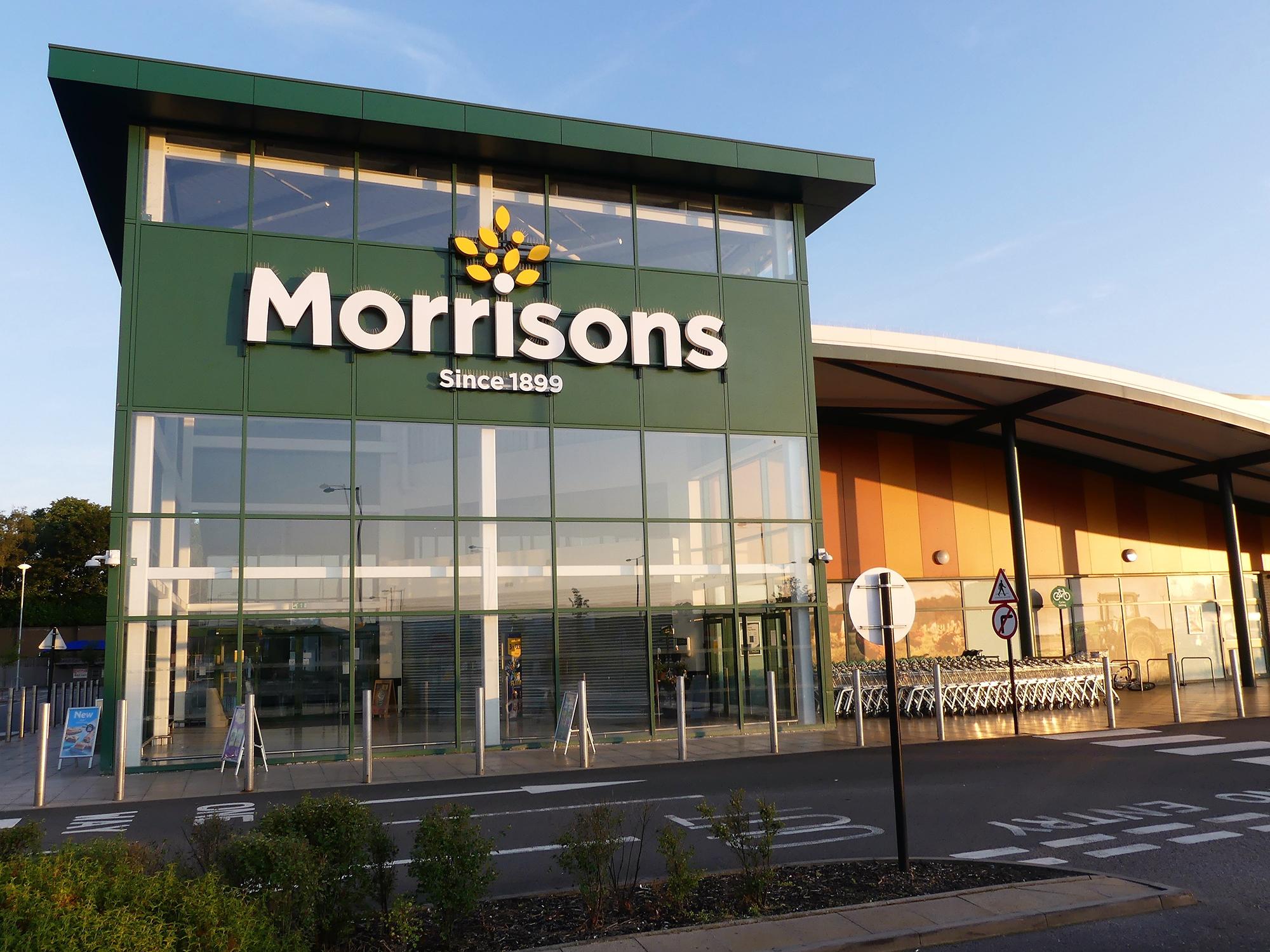 Morrisons store. (Image: Peter_Fleming/Shutterstock)