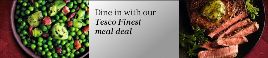 Tesco meal deal banner. (Image: Tesco)