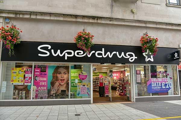 Superdrug store. (Image: Ajit Wick/Shutterstock)