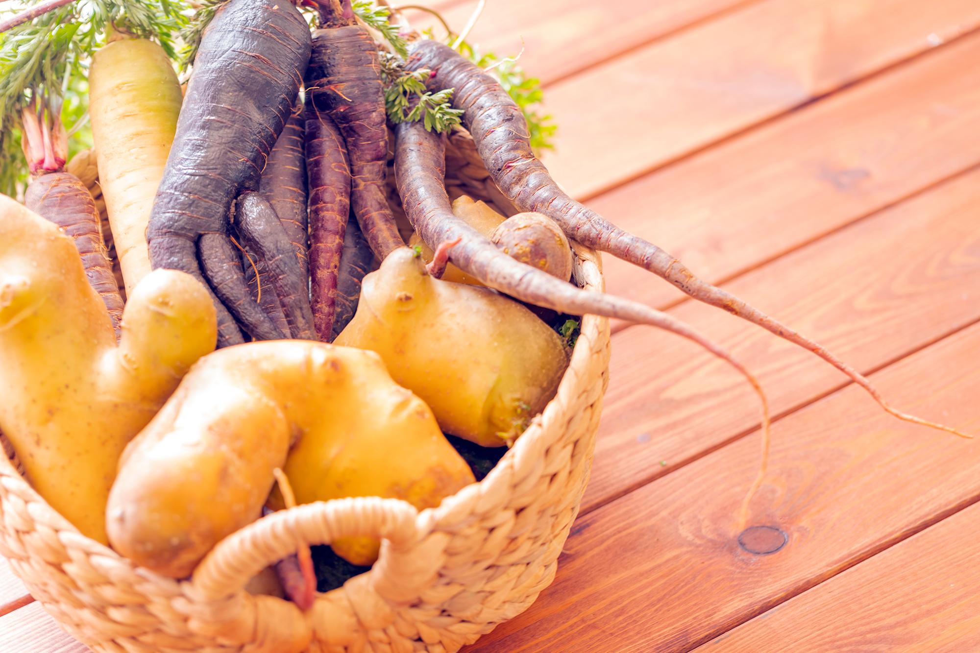 Wonky veg. (Image: Shutterstock)