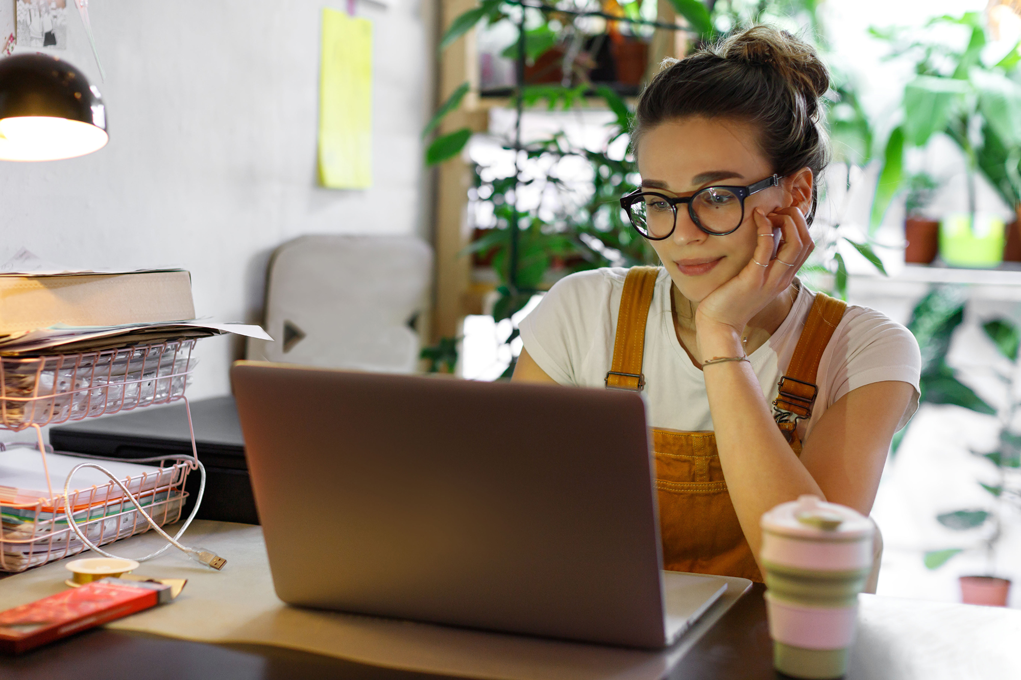 Woman working from home. (Image: Shutterstock)