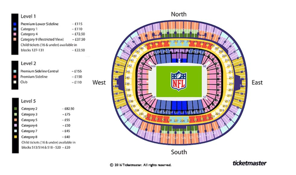 nfl wembley and twickenham tickets 2017 where to get them and how to save. Black Bedroom Furniture Sets. Home Design Ideas