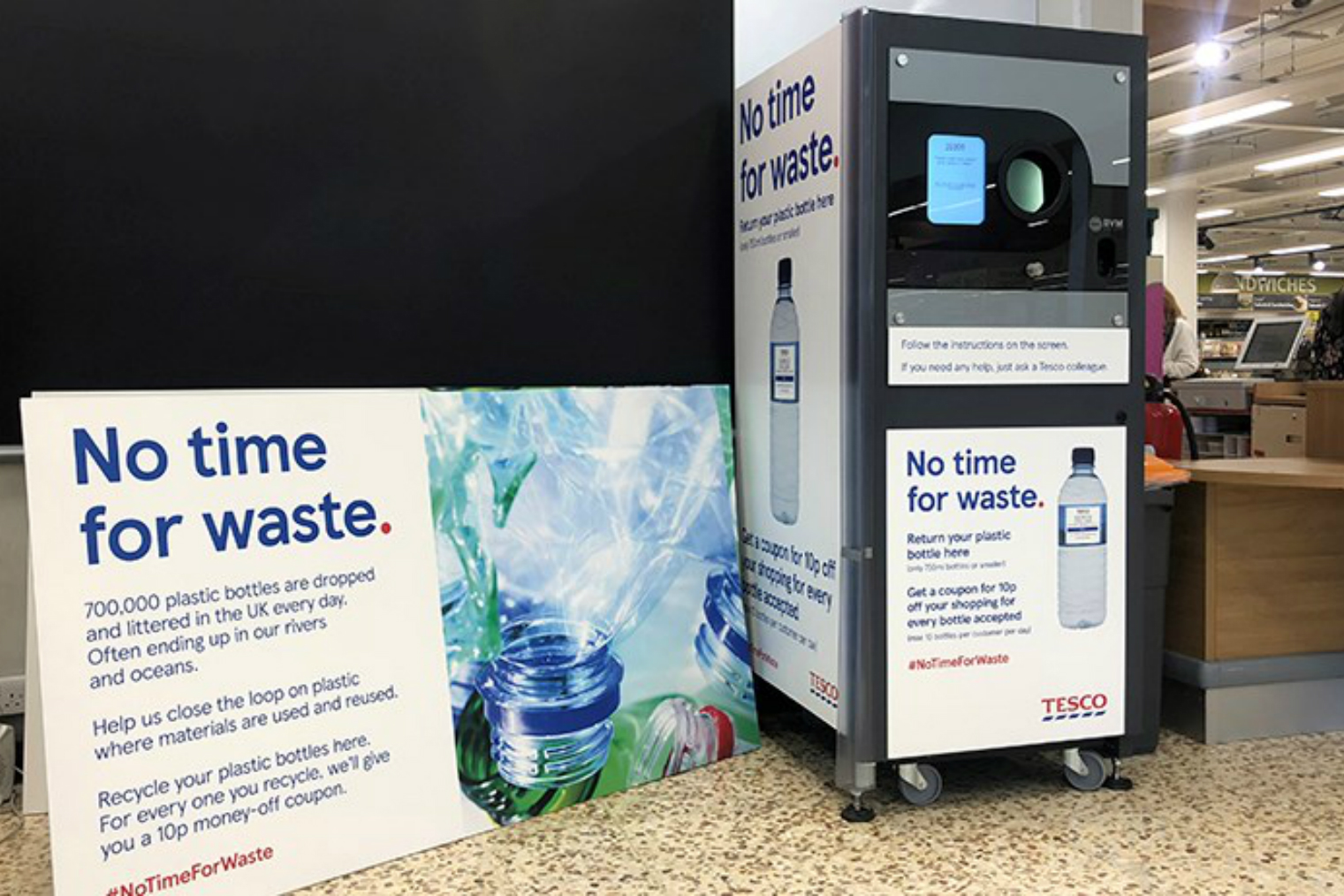 Supermarket recycling schemes: how much you can earn at Tesco