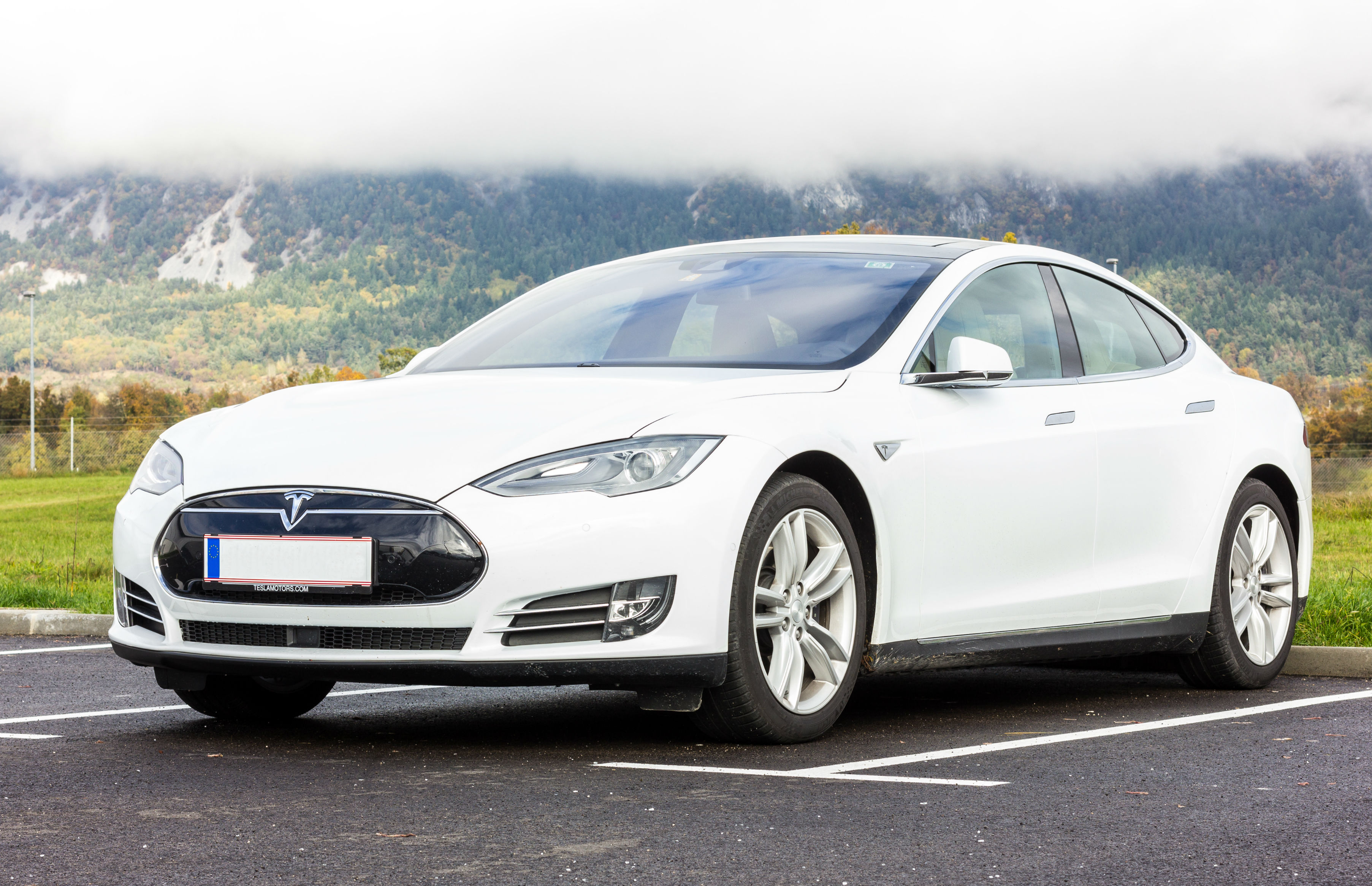 A Tesla Model S Which Qualifies For Government Grant Image Shutterstock