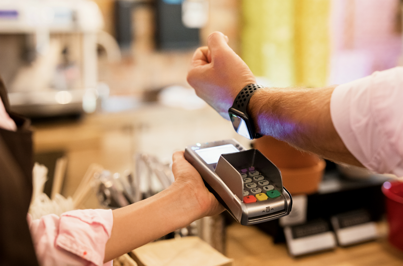 Contactless payments (Image: Shutterstock)