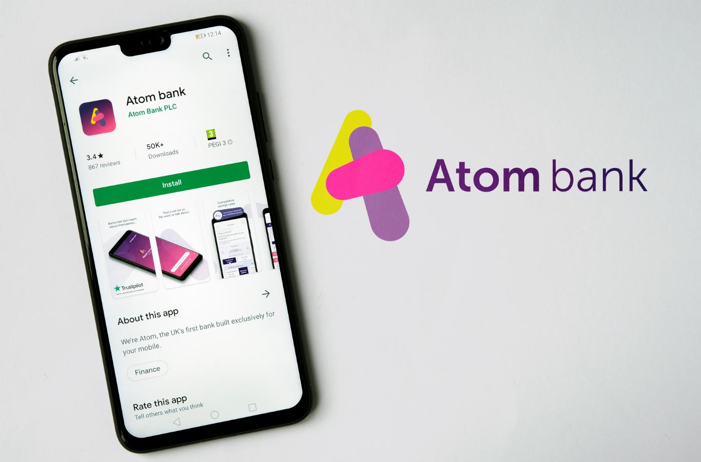 Atom Bank (Image: Shutterstock)