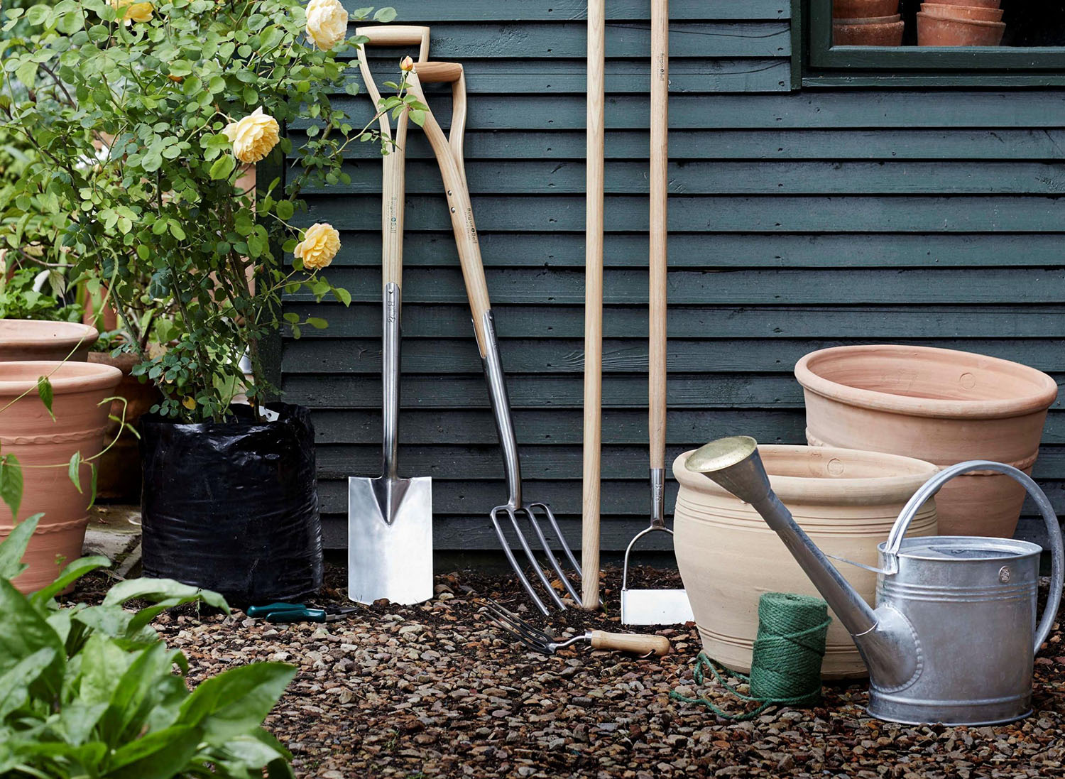 Now's the time to put your garden tools to good use. Image: Dobbies