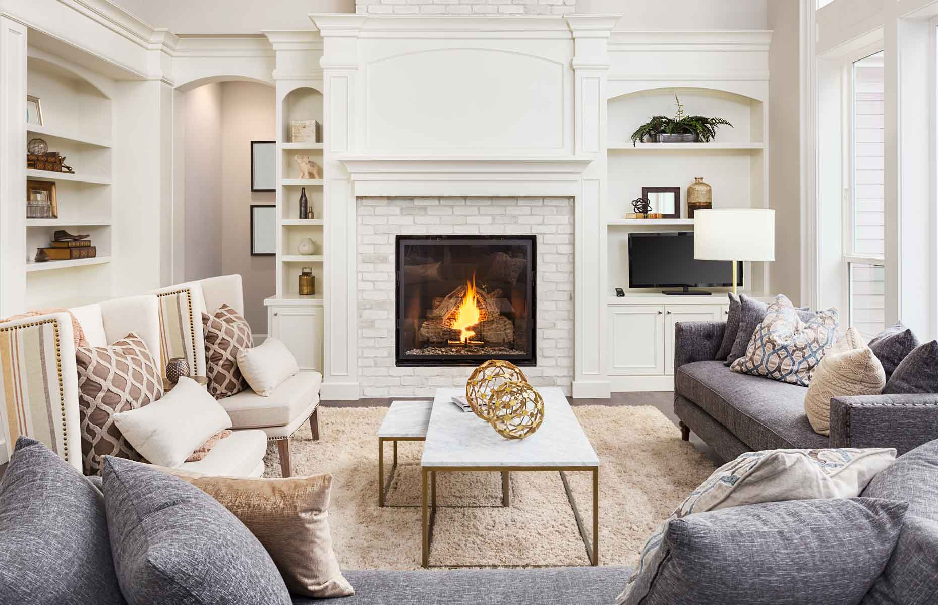 Groovy 9 Ways To Update An Old Fireplace Home Interior And Landscaping Ologienasavecom