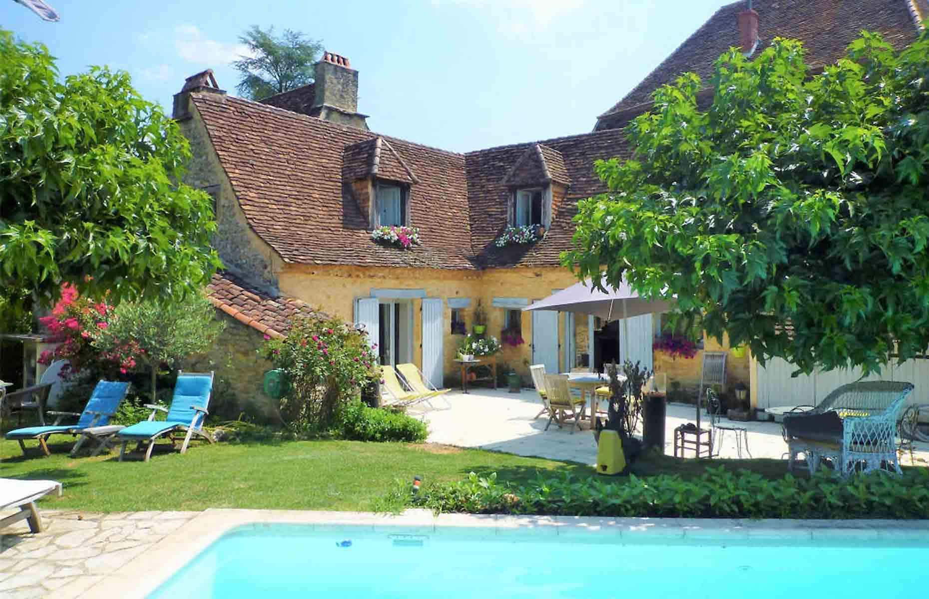 Complete with quaint window shutters, this period property is a picture-perfect escape. Image: Pioneer France