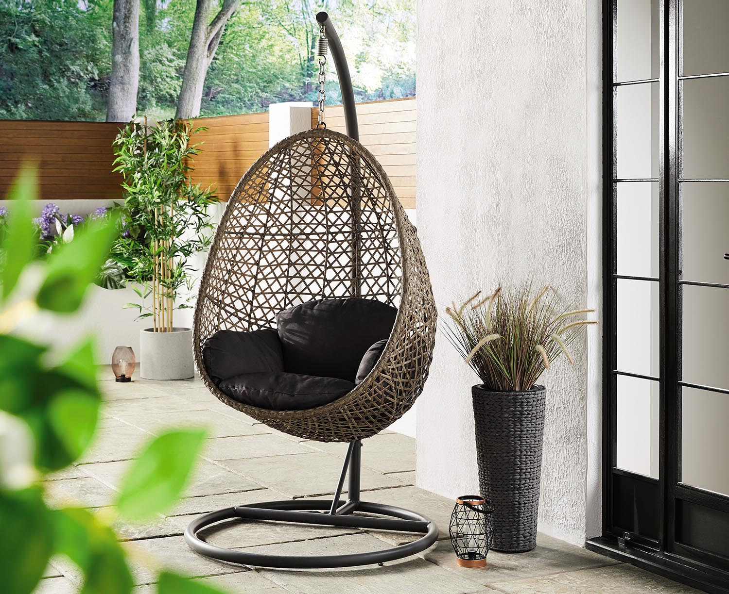 Aldi Specialbuys: Hanging egg chair