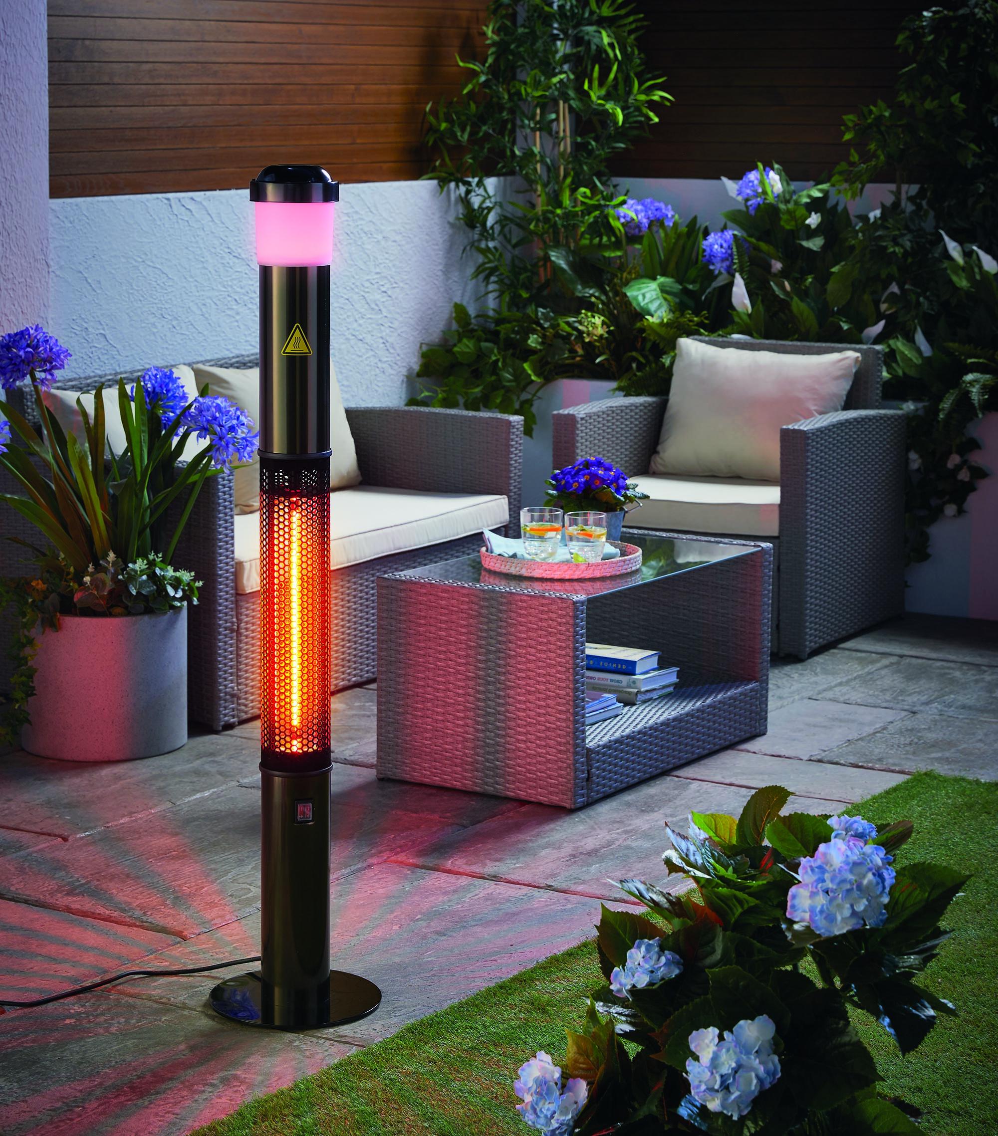 Aldi Specialbuys: Bluetooth patio heater