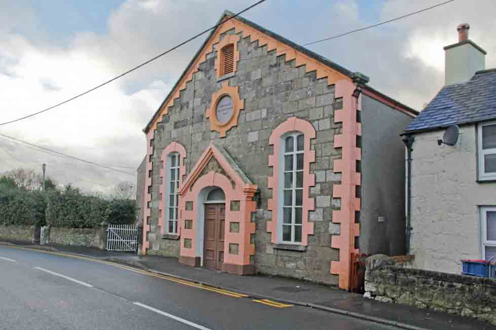 This quaint church sits in the heart of Llangoed in Anglesey. Image: Dafydd Hardy