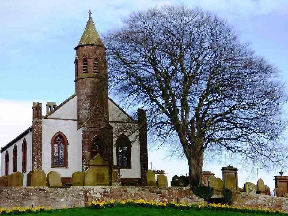This quaint rural church is packed with architectural gems. Image: The Church of Scotland