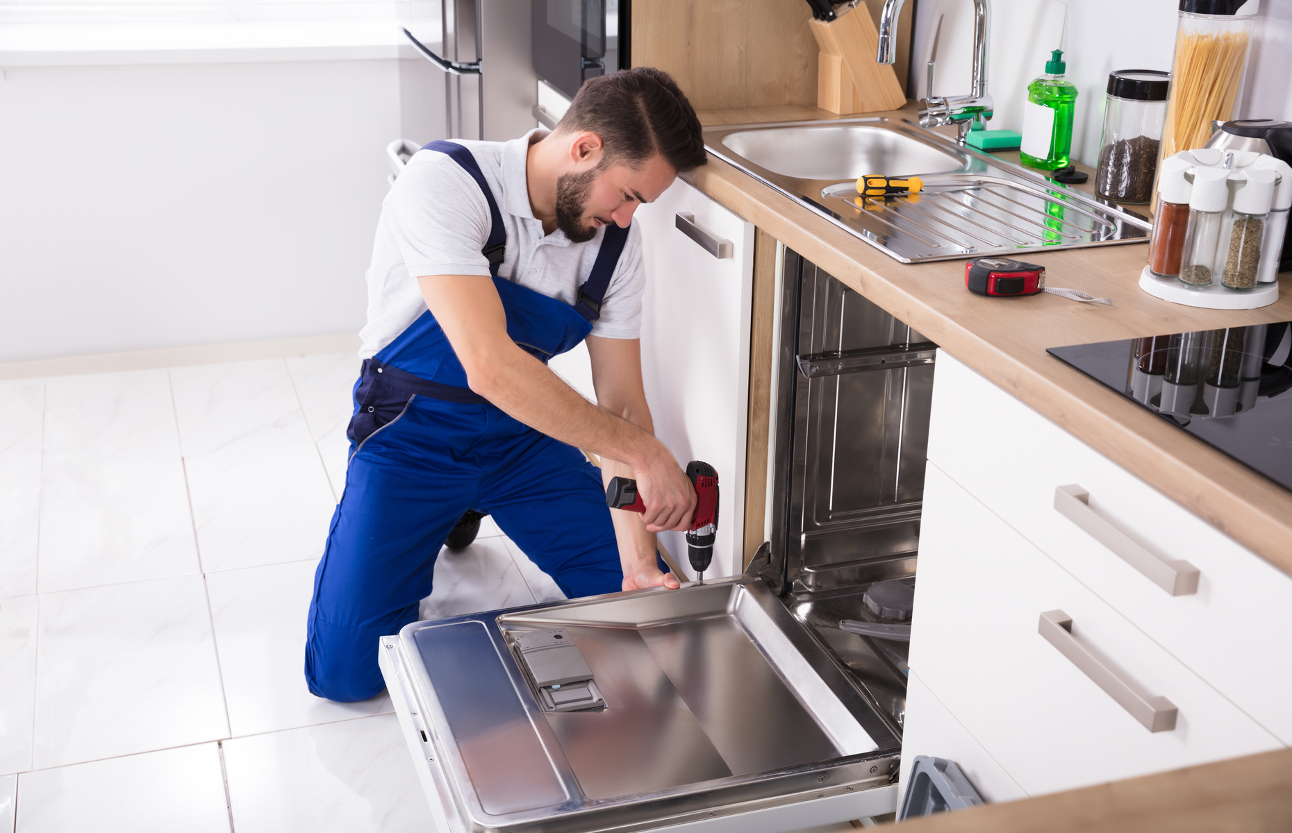 Strict guidelines need to be followed when it comes to installing a dishwasher. Image: Andrey_Popov / Shutterstock