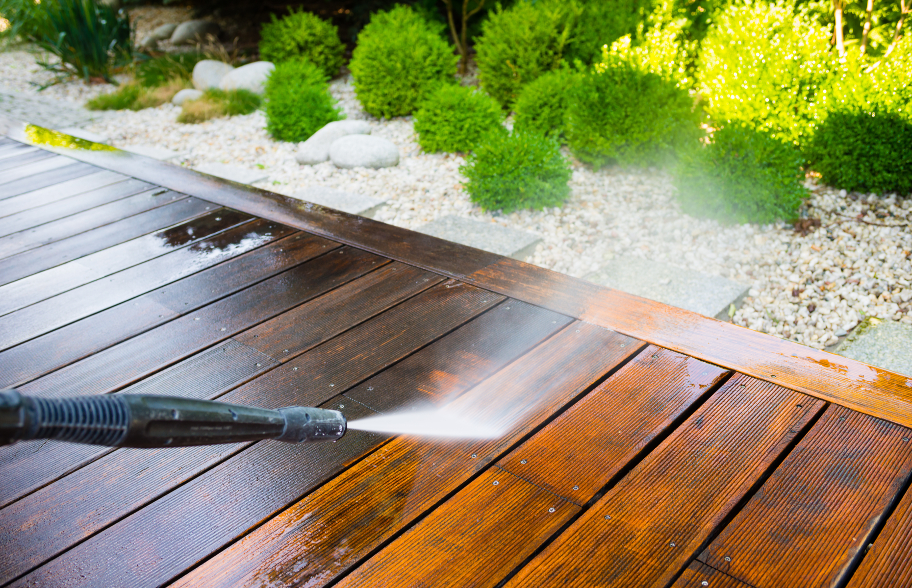 Regularly maintain your outdoor spaces to avoid big expenses later in the year. Image: bubutu / Shutterstock