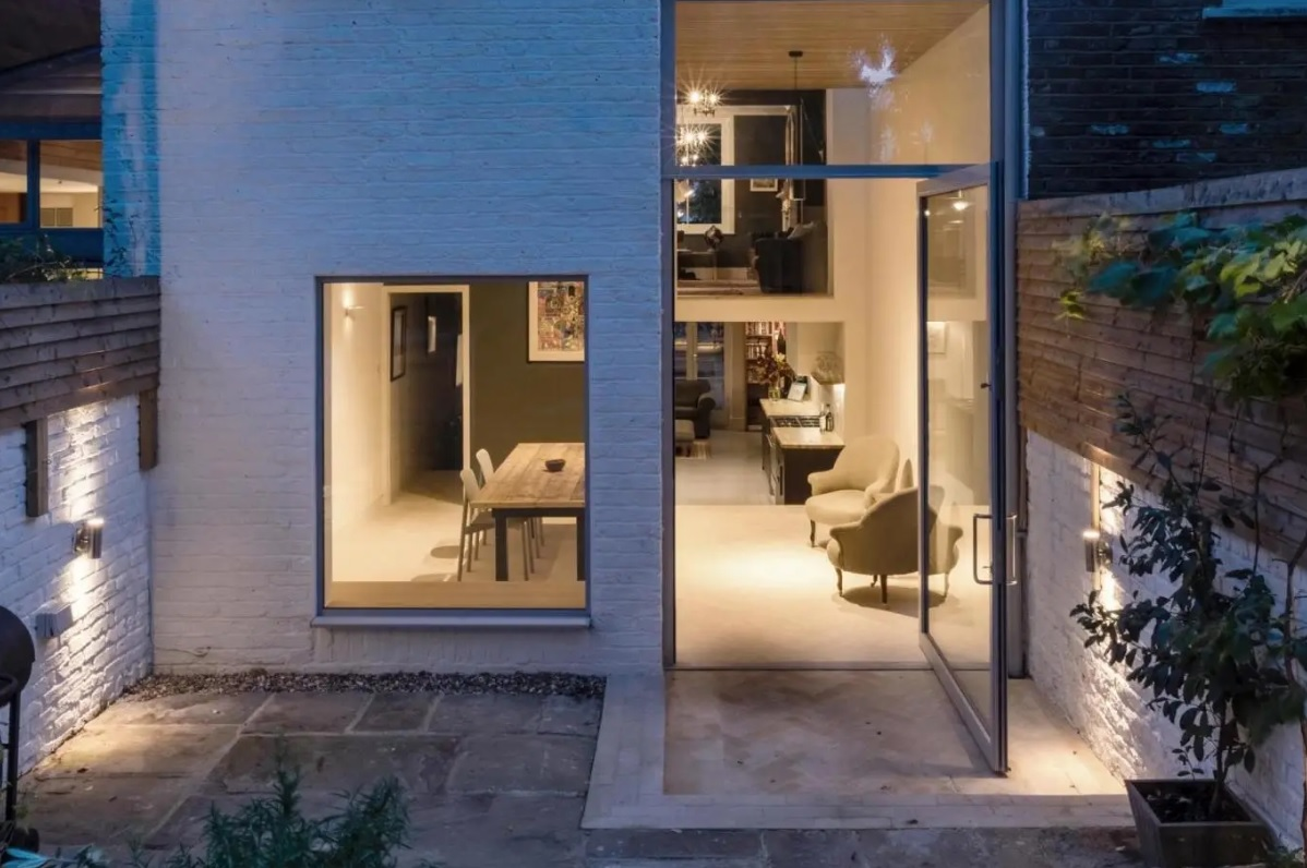 The basement level of this period property in South London was converted and extended to add extra space. Image:Proctor & Shaw/ Claylands