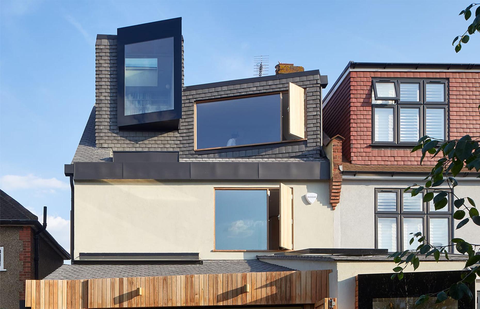 This innovative loft conversion was shortlisted for NLA's Don't Move, Improve! awards. Image: Edmund Sumner / Rise Design Studio