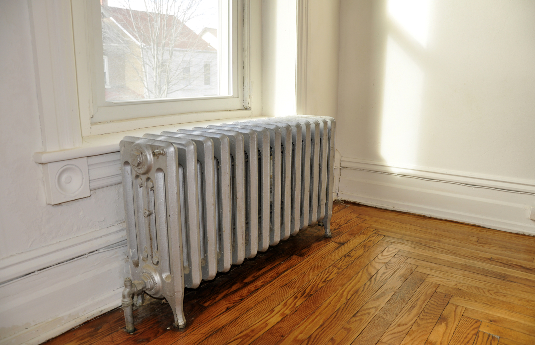 Out of date heating systems can lead to cold, drafty homes. Image: Cynthia Farmer/Shutterstock