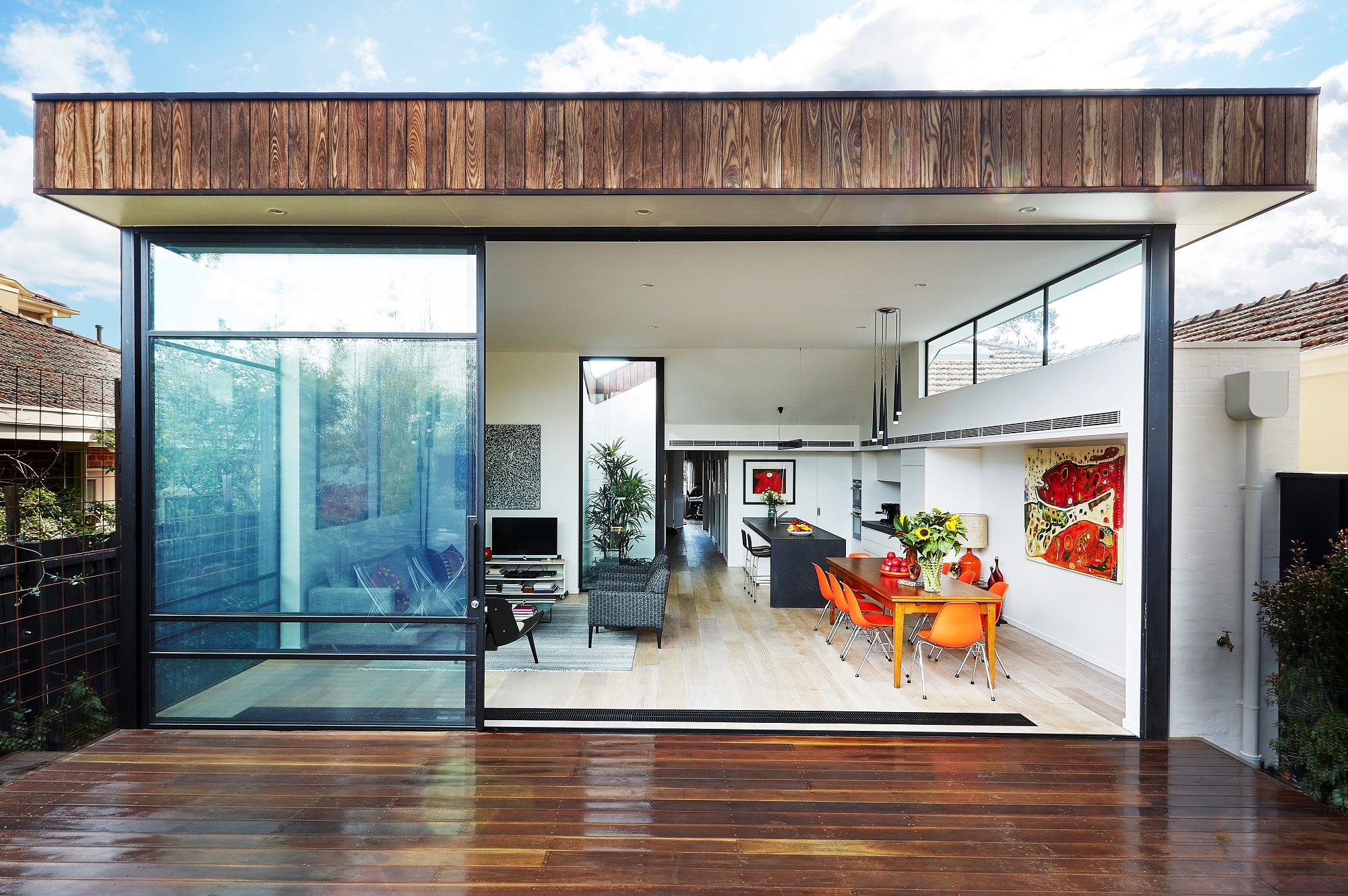 Inside outside living - how to plan your internal space