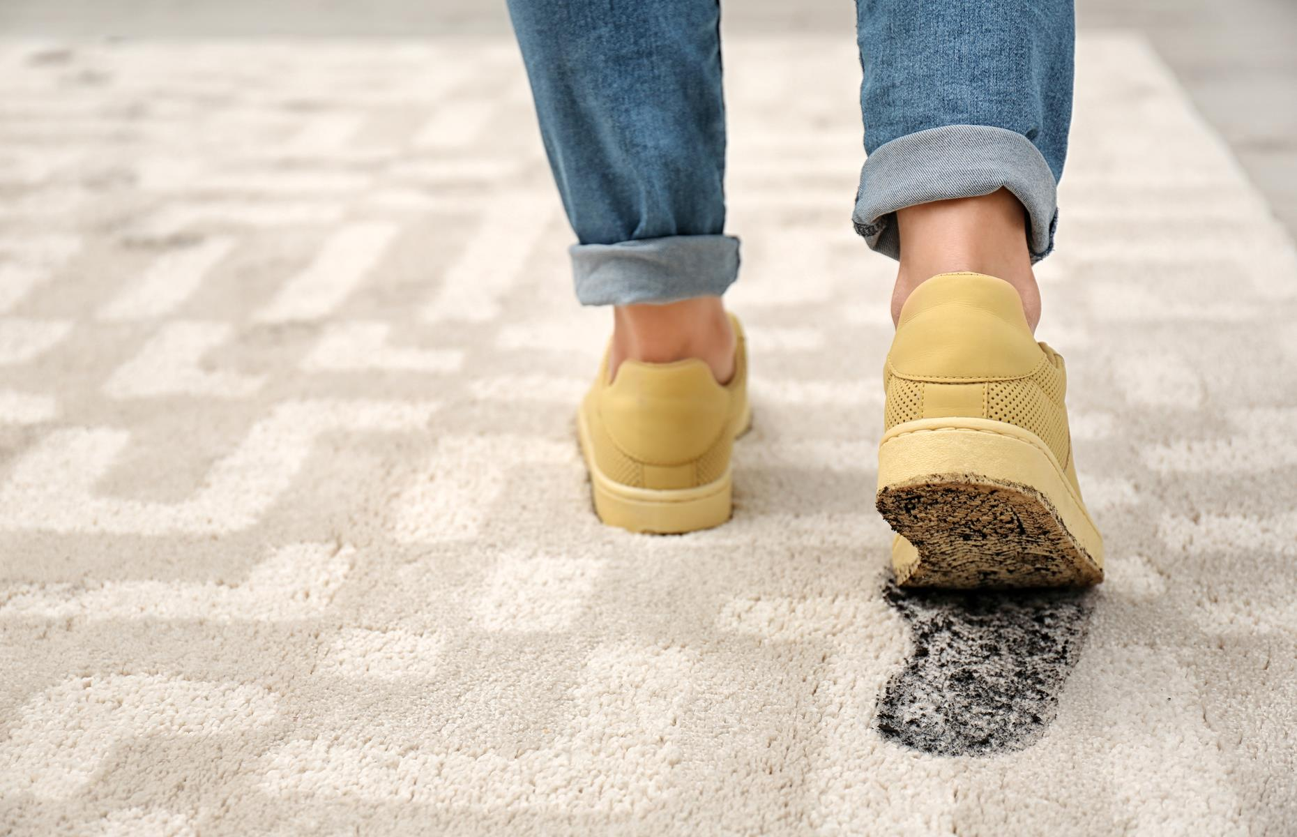 You never know what harmful microbes are lurking on your shoes. Image: New Africa / Shutterstock