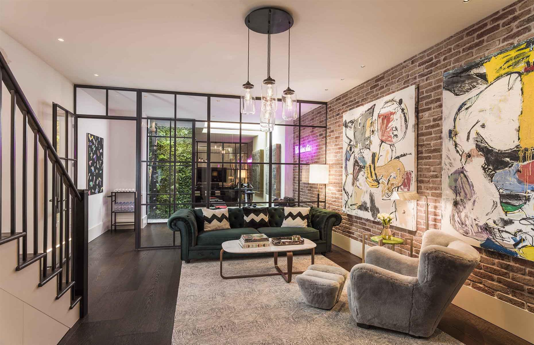 Investment duo Hugo and Elnaz transformed a dilapidated wreck into a £4.5 million ($5.6m) townhouse. Image: Elnaz Namaki / HvB Development