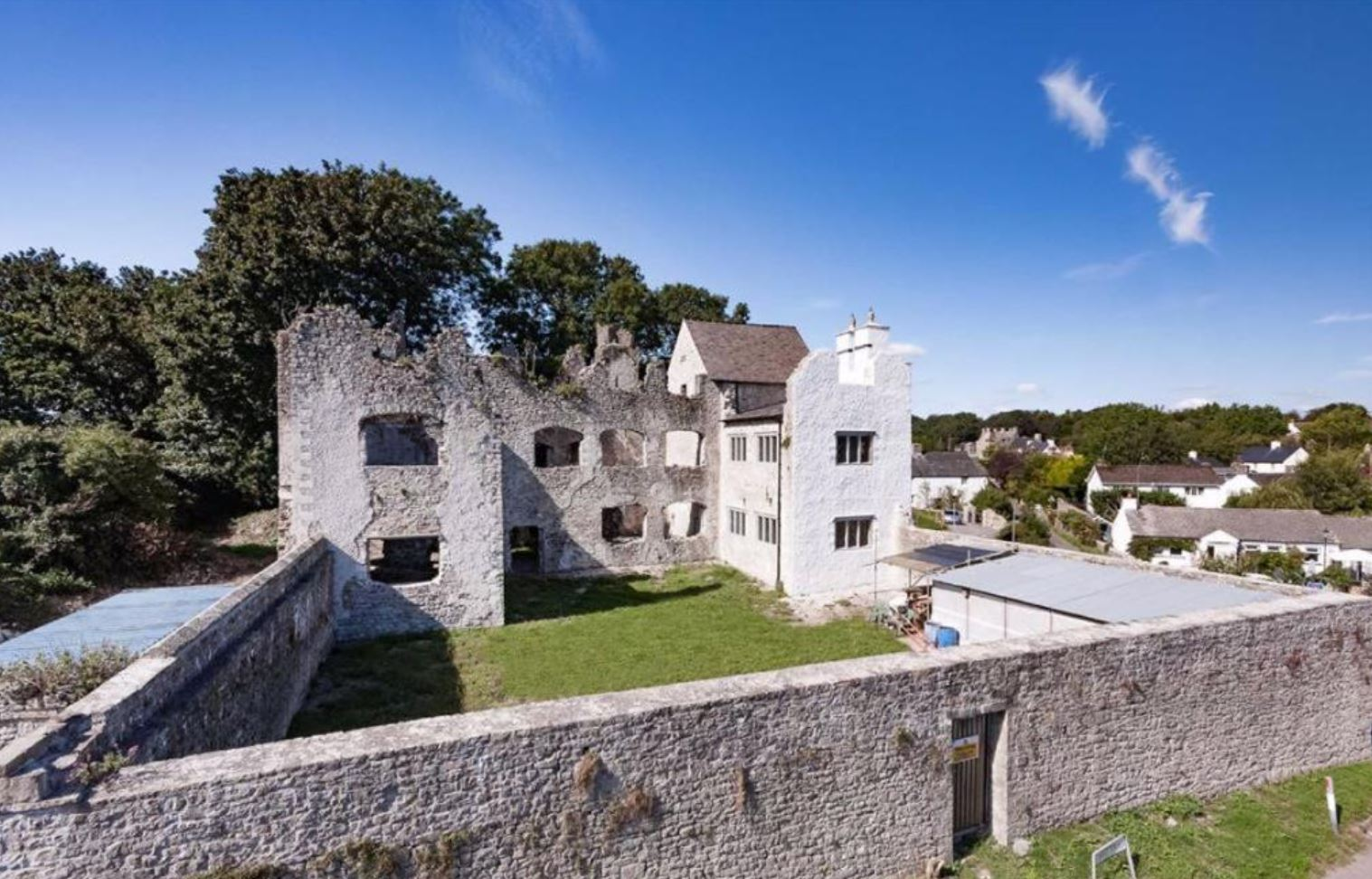 Man turns £5,000 castle ruins into £1.2 million home