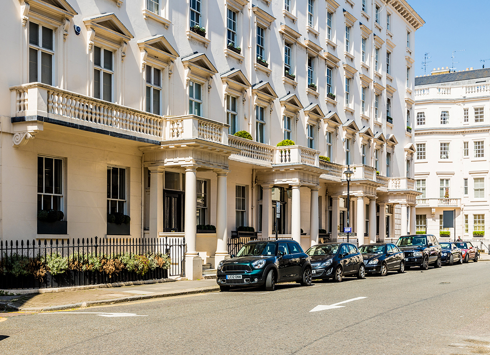 Eaton Square: Most expensive streets in Britain