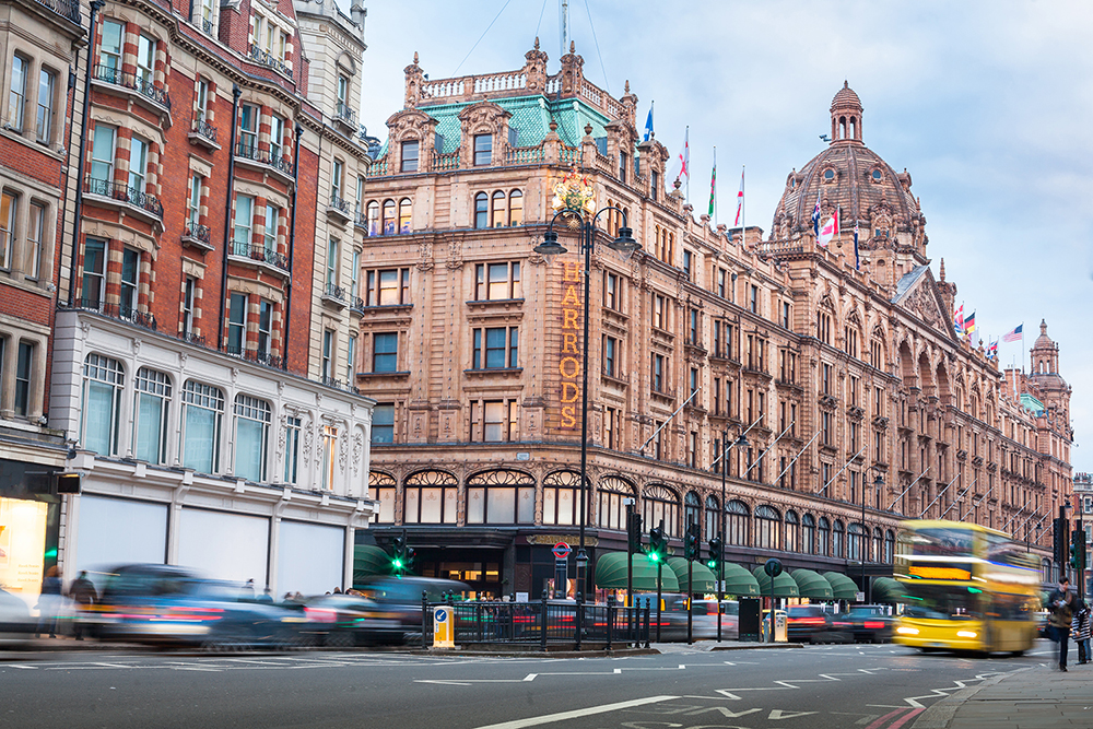 Knightsbridge: Britain's most expensive streets