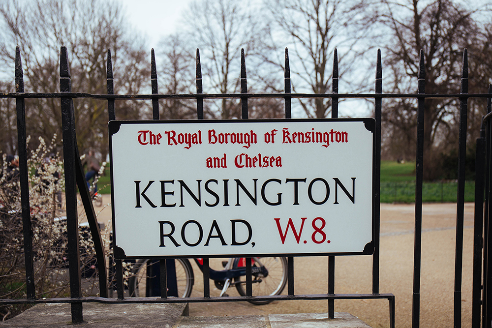Kensington Road: Britain's most expensive streets