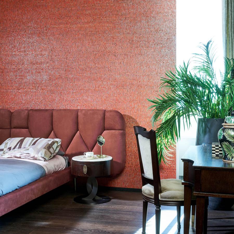 Fring wallpaper, £79 ($100) per metre, Jane Clayton & Company, international delivery