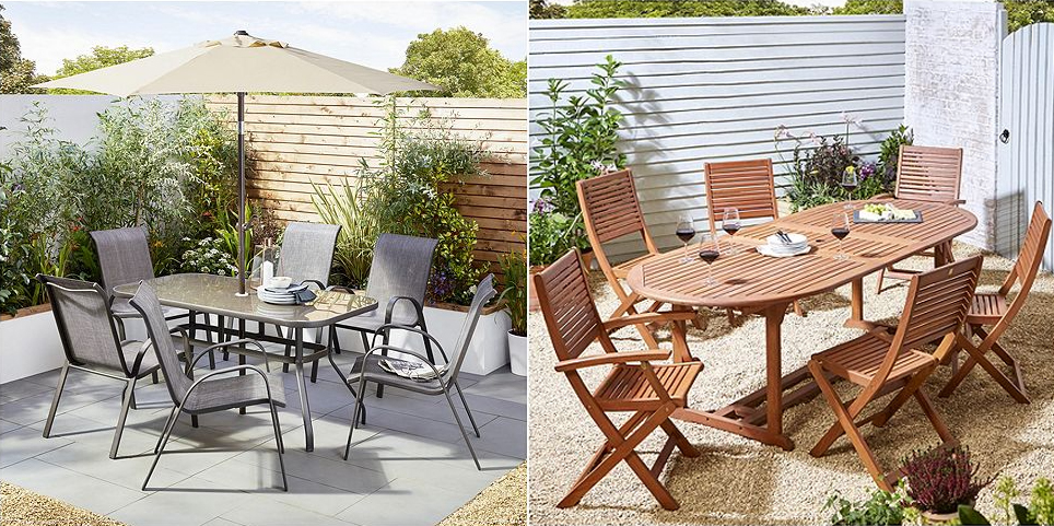 Garden Table And Chairs From Tesco Direct