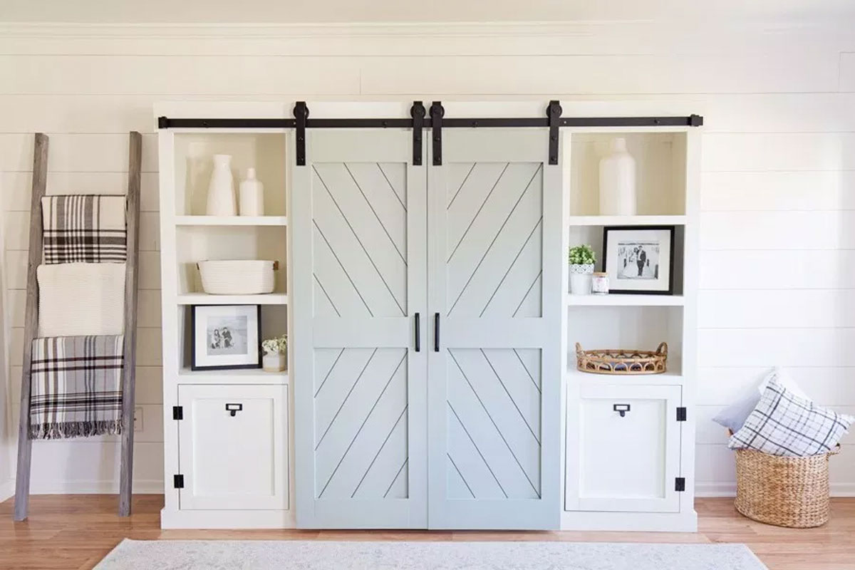 Barn doors: The rustic and refined trend that are sliding into homes fast