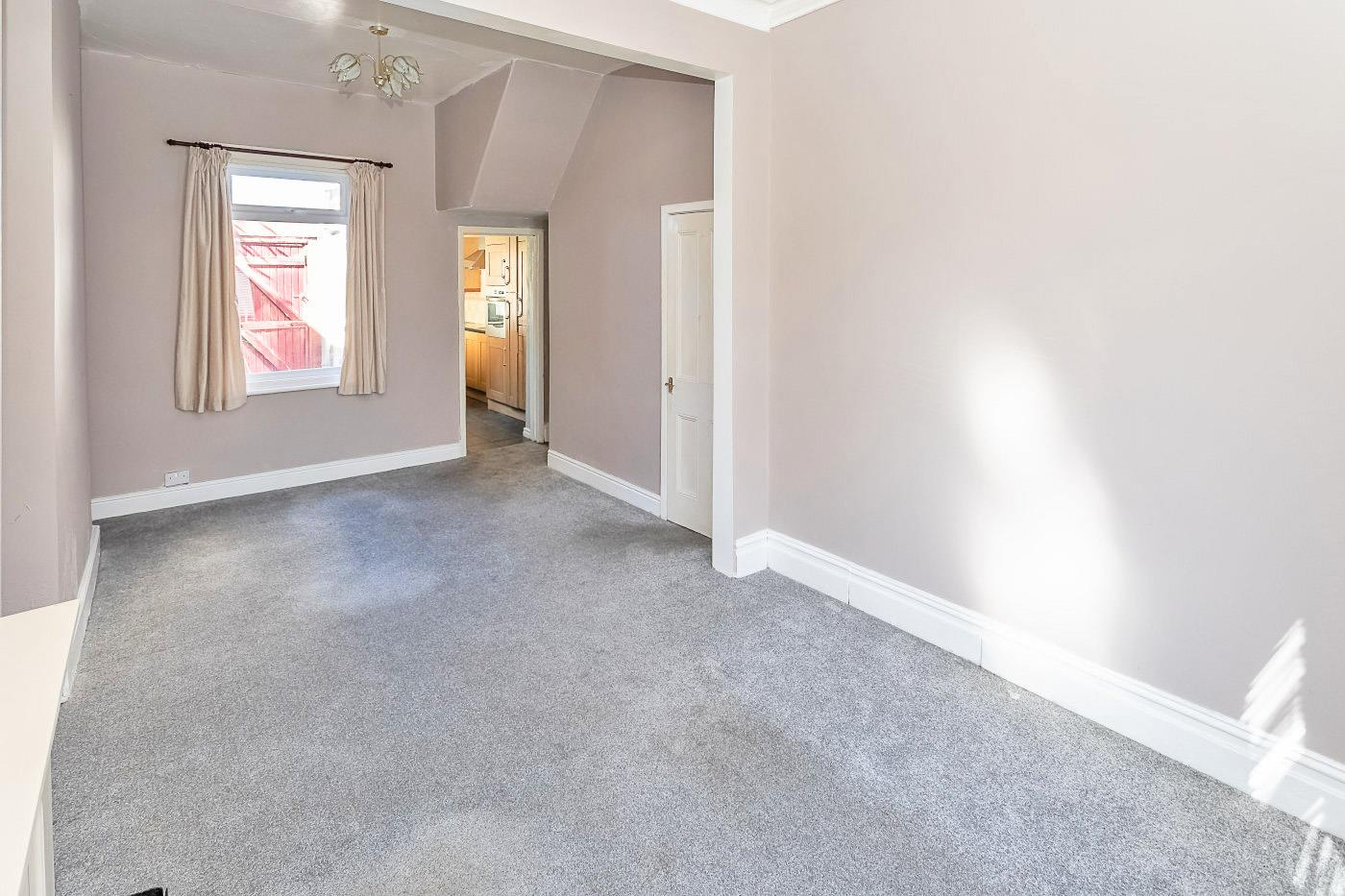 The house is in good shape - as this living room shows. Image: Zoopla