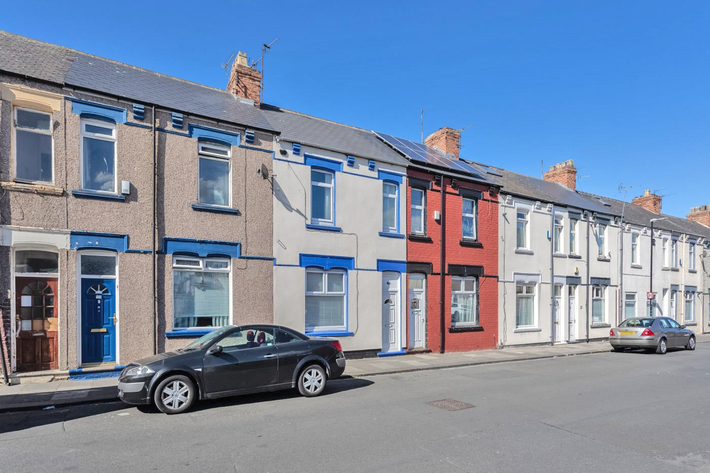 A three-bed in Hartlepool is on sale for £25,000. Image: Zoopla